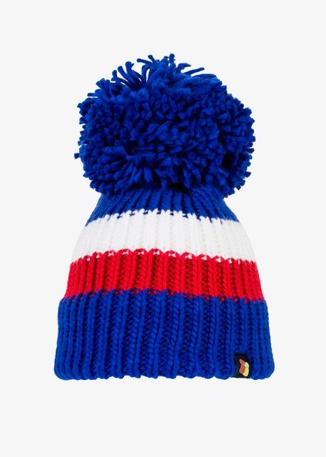 Image of Rangers home bobble hat