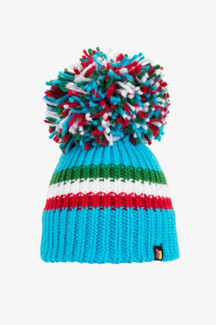 Image of Italy bobble hat