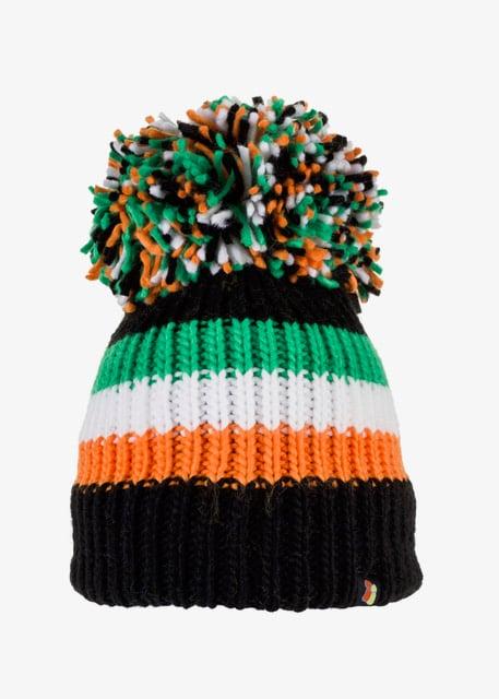 Image of Celtic tri colour bobble hat