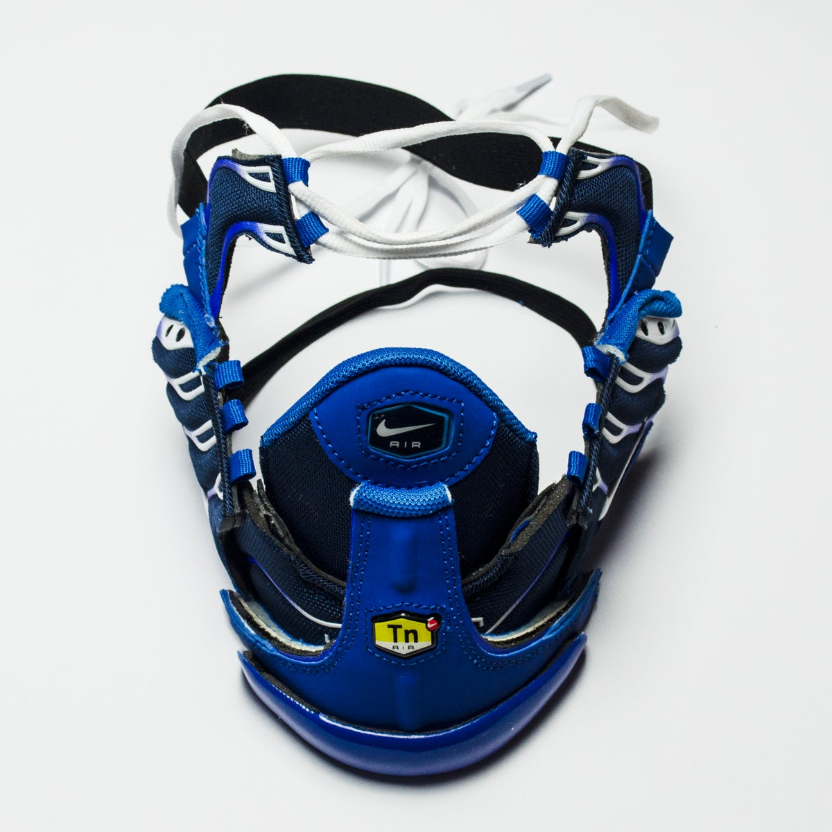 Image of SNEAKER MASK / HEAD PIECE / BLUE - WHITE