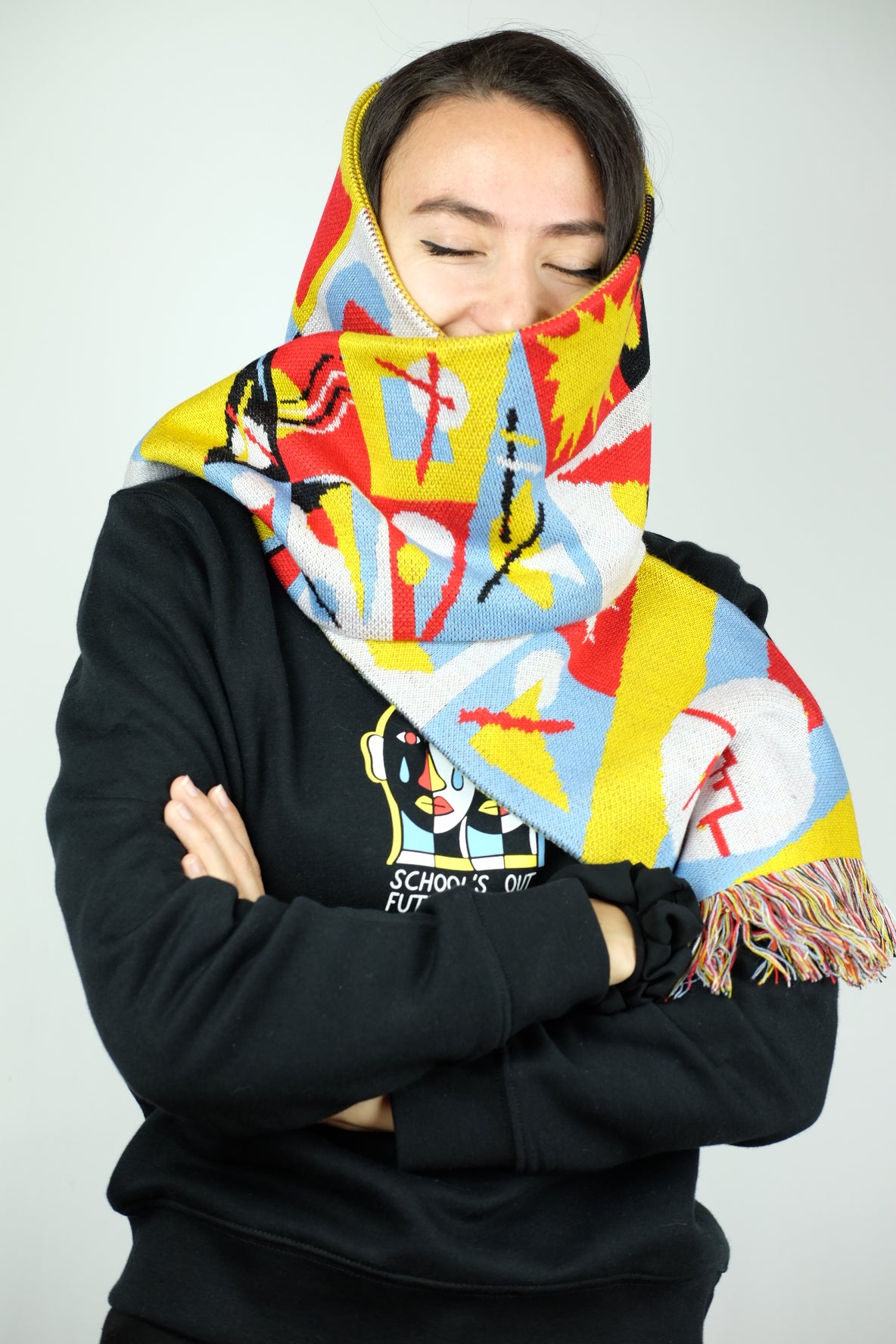 Image of SCHOOL'S OUT SCARF