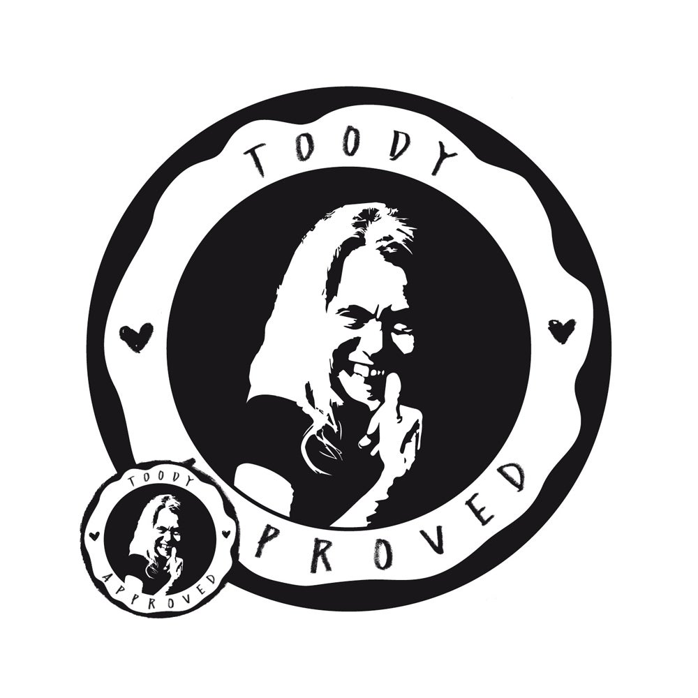 TOODY approved – Sticker