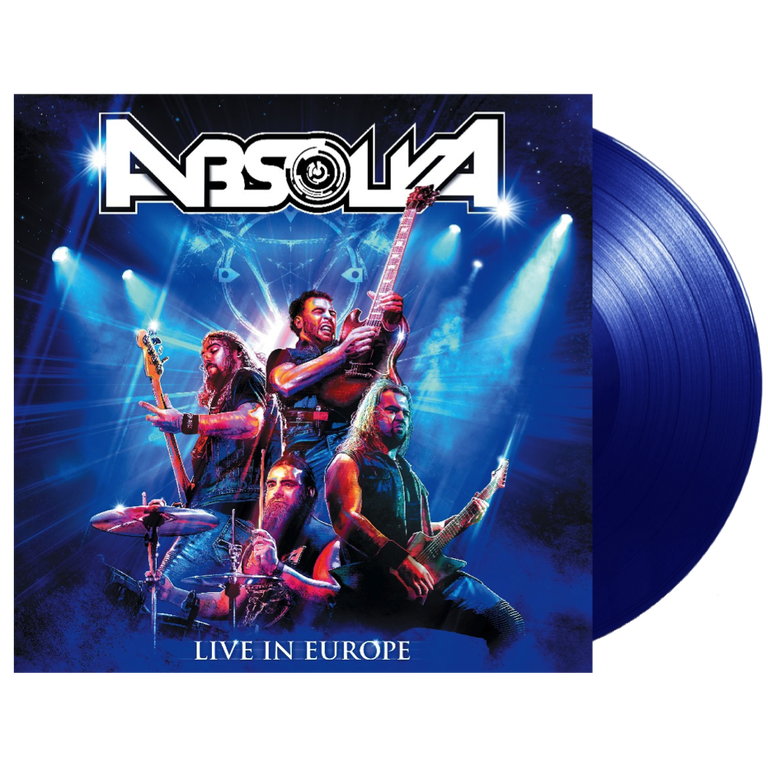 Absolva Live In Europe - Blue Vinyl Limited Edition