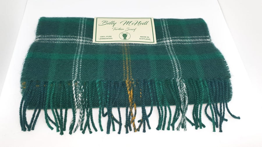 Image of Billy McNeill tartan scarf