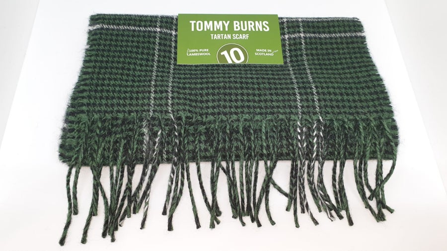 Image of Tommy Burns tartan scarf