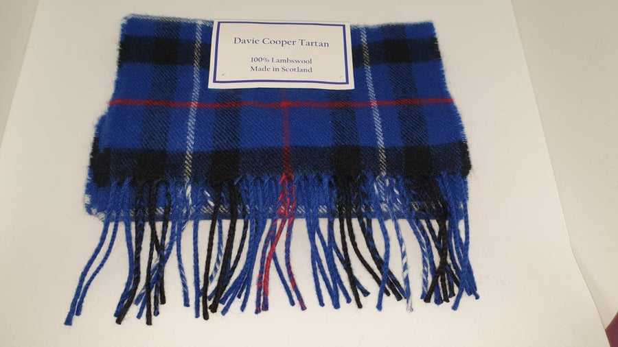Image of Davie Cooper tartan scarf