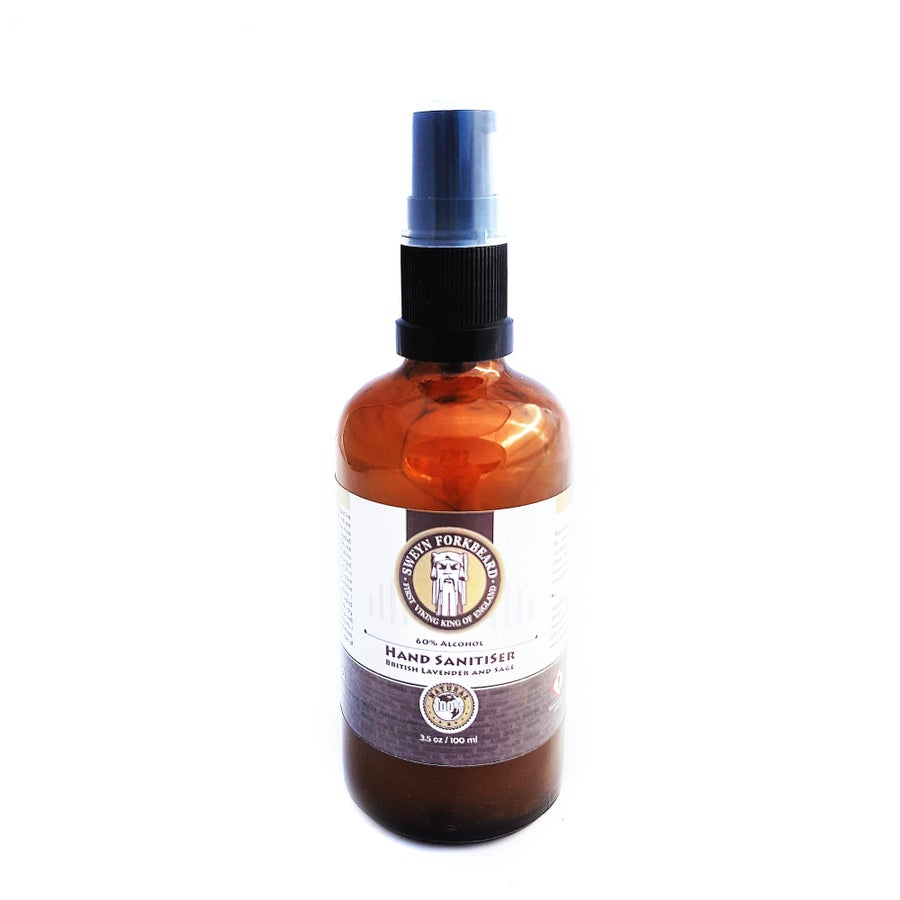 Image of Hand Sanitiser with Organic Essential Oils 100ml