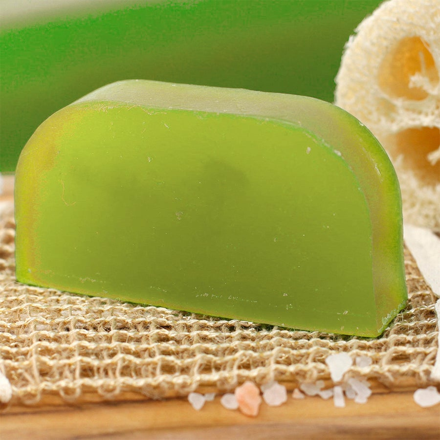 Image of Coconut & Lime Solid Shampoo with Argan Oil 100% Organic (Pack of 2)