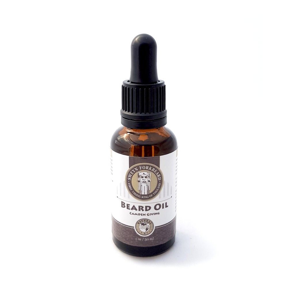 Image of Camden Giving Beard Oil (50% of the sales goes to the Charity Camden Giving)