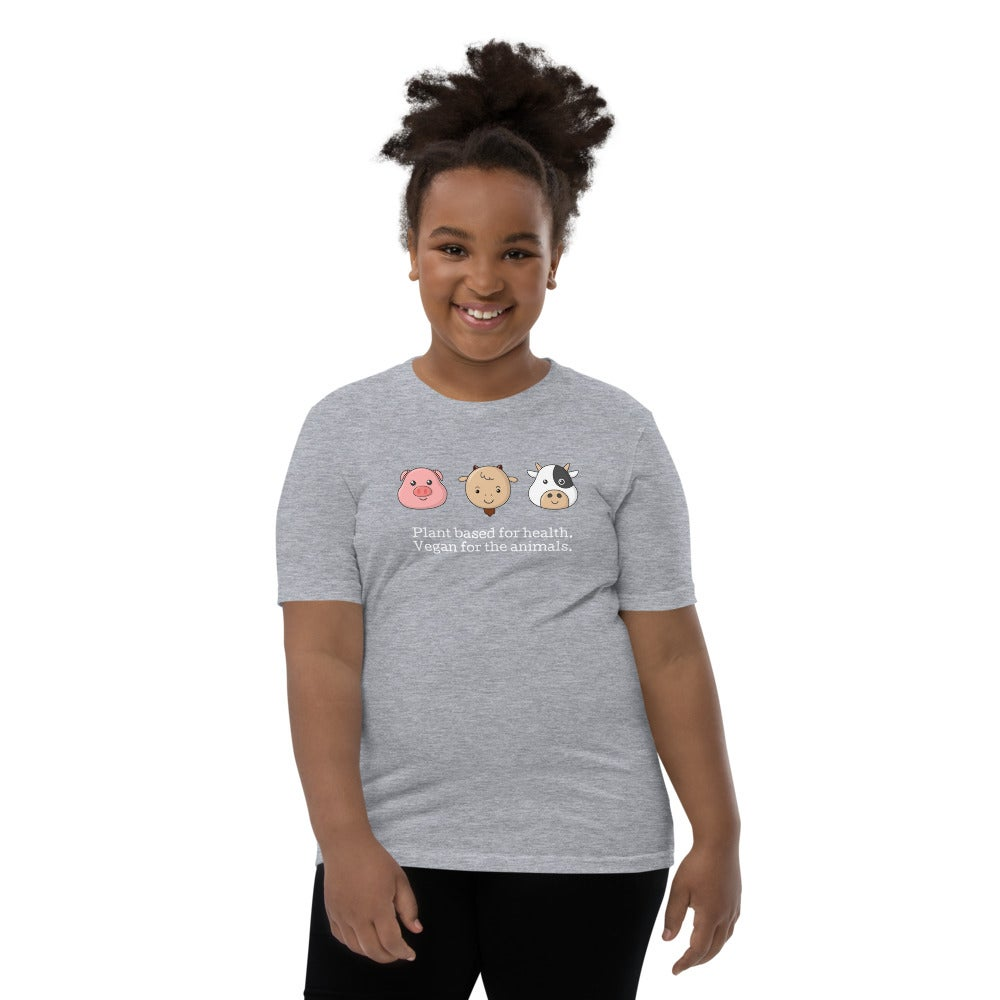 Image of Youth Short Sleeve Vegan T-Shirt