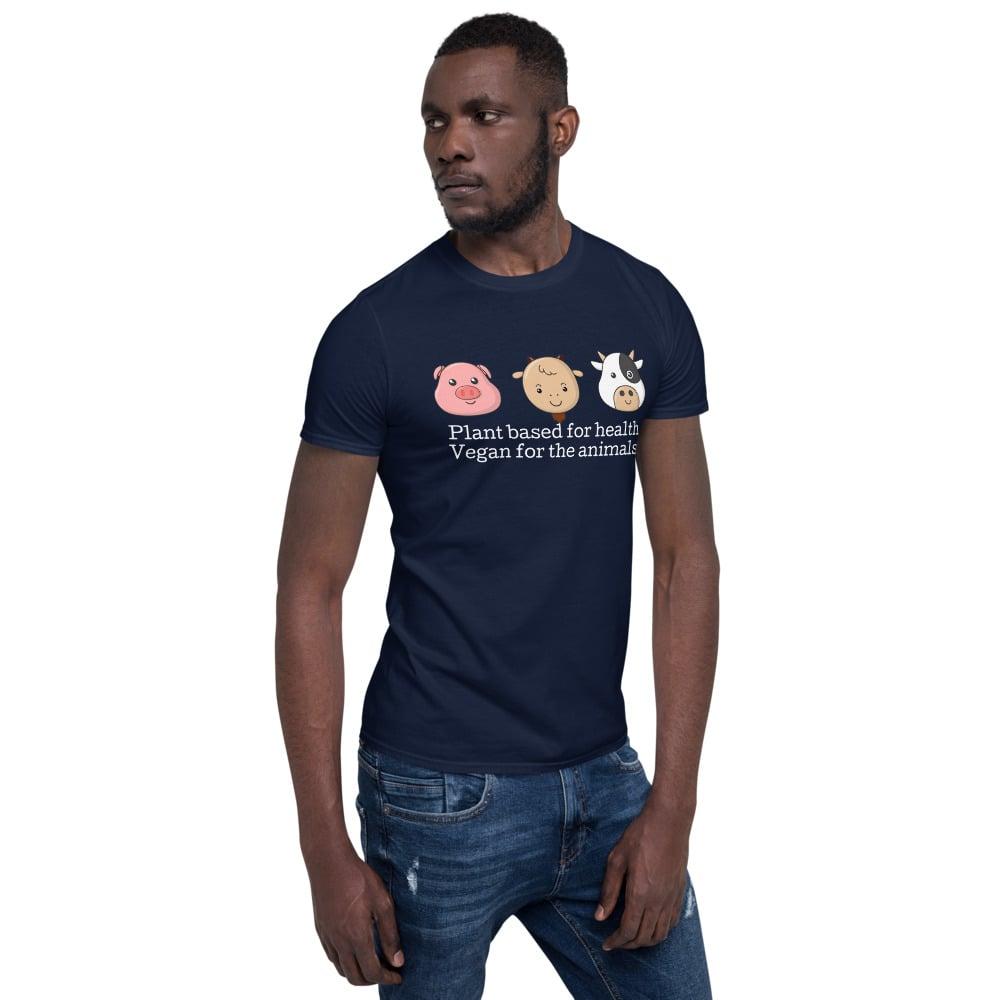 Image of Short-Sleeve Unisex Vegan T-Shirt
