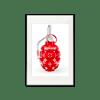 LV x Supreme Red Grenade