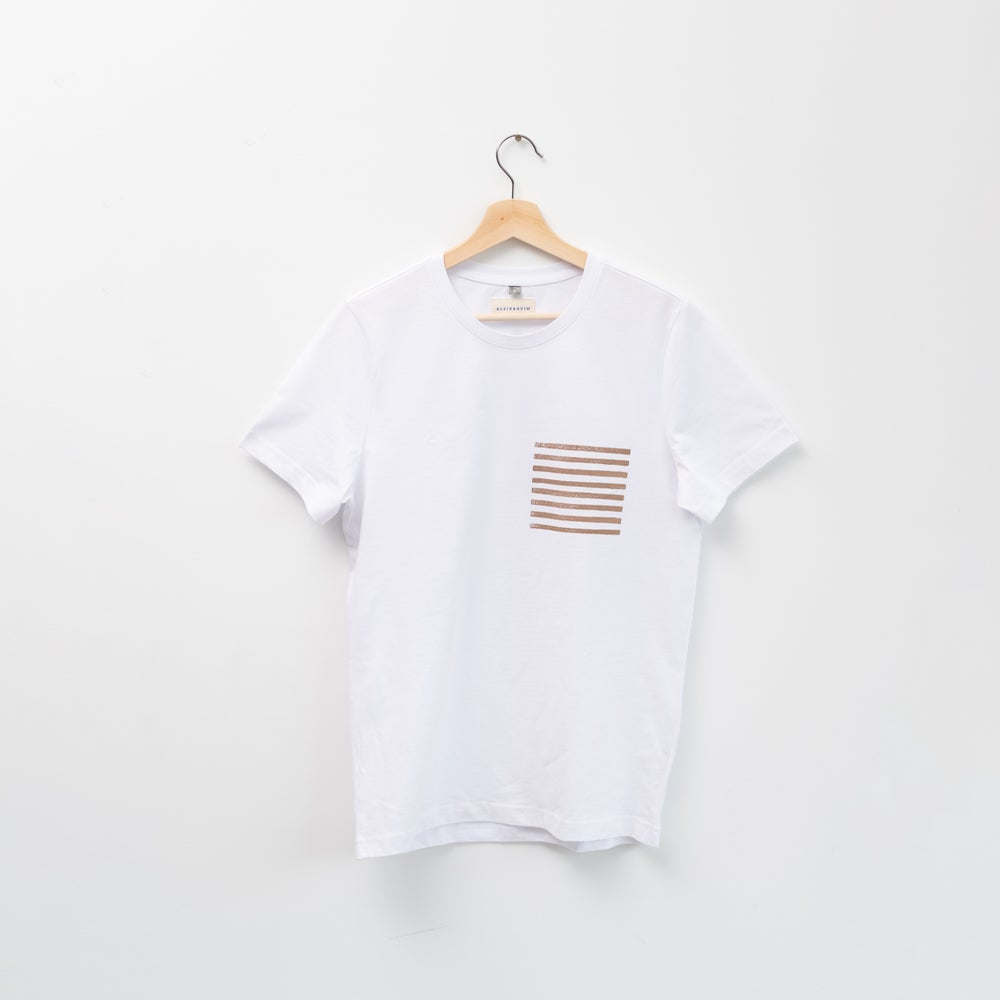 Image of CAMISETA POKET BLANCA