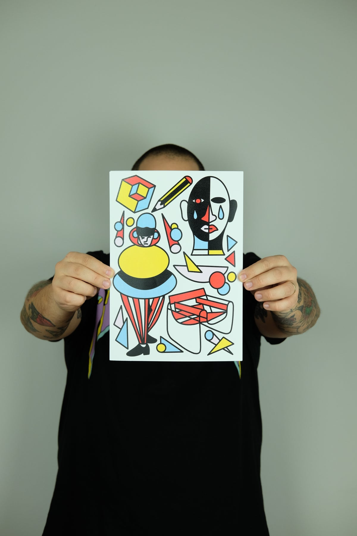 Image of PACK OF PRINTS - SCHOOL'S OUT