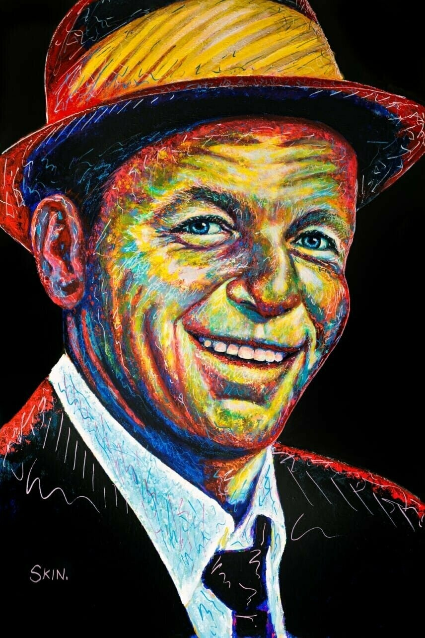 Frank Sinatra by Jeff Williams (Premium Canvas Prints)