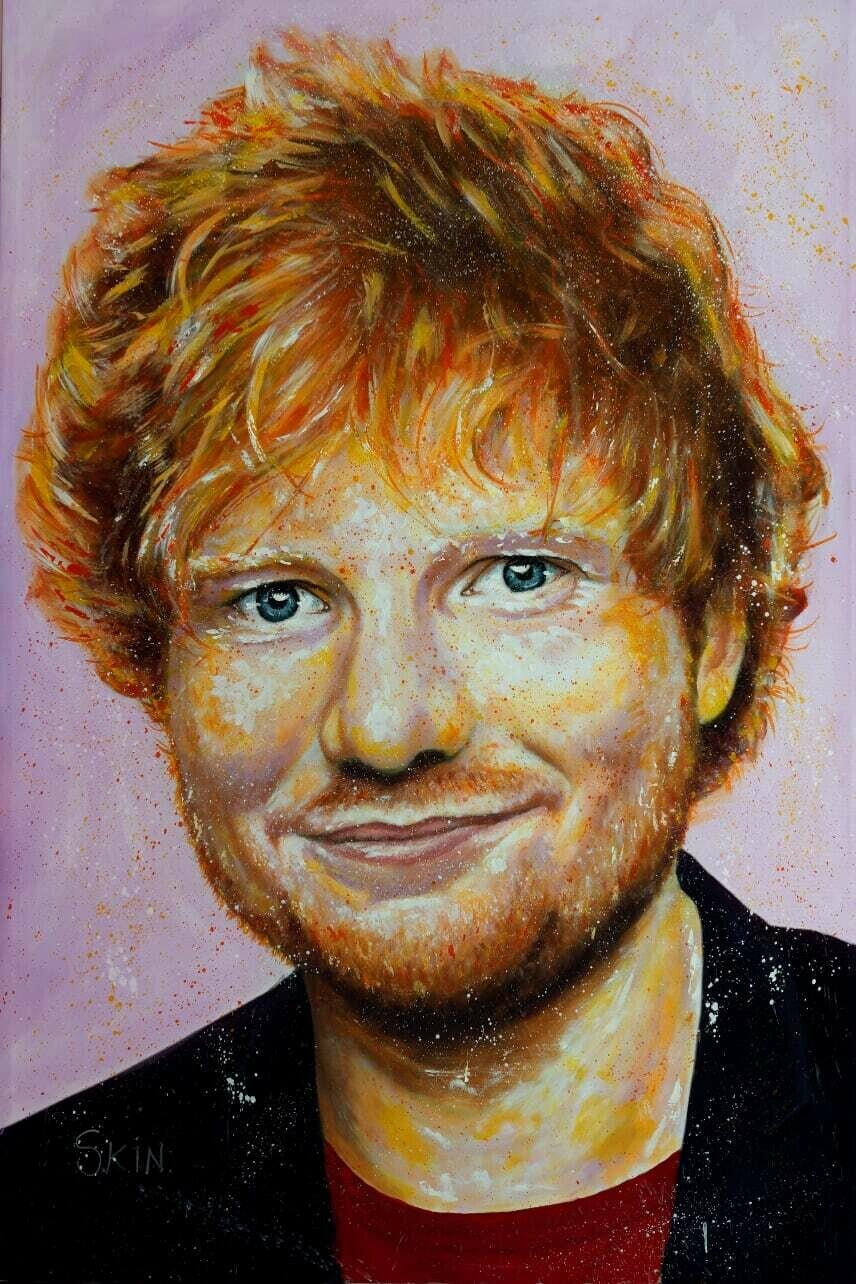 Ed Sheeran by Jeff Williams (Premium Canvas Prints)