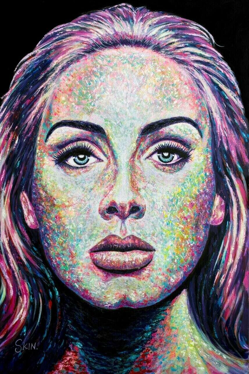 Adele by Jeff Williams (Premium Canvas Prints)