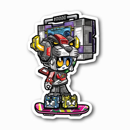 Image of Pandatron Burn353 Sticker