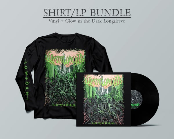 "Image of Wastewalker - ""Lowborn"" LP Vinyl + Longsleeve Glow in the Dark Shirt (PRE-ORDER Ships in May)"