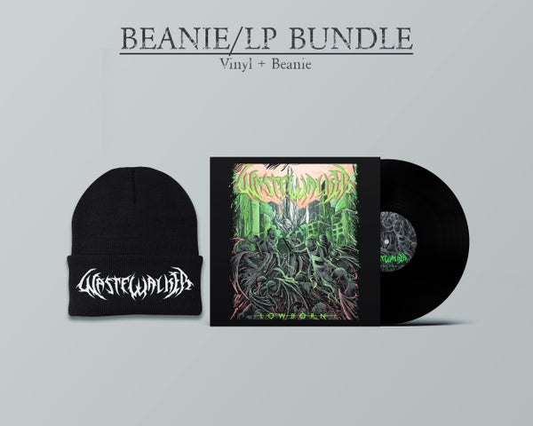 "Image of Wastewalker = ""Lowborn"" Vinyl LP + Logo Beanie Bundle (PRE-ORDER Ships in May 2021)"