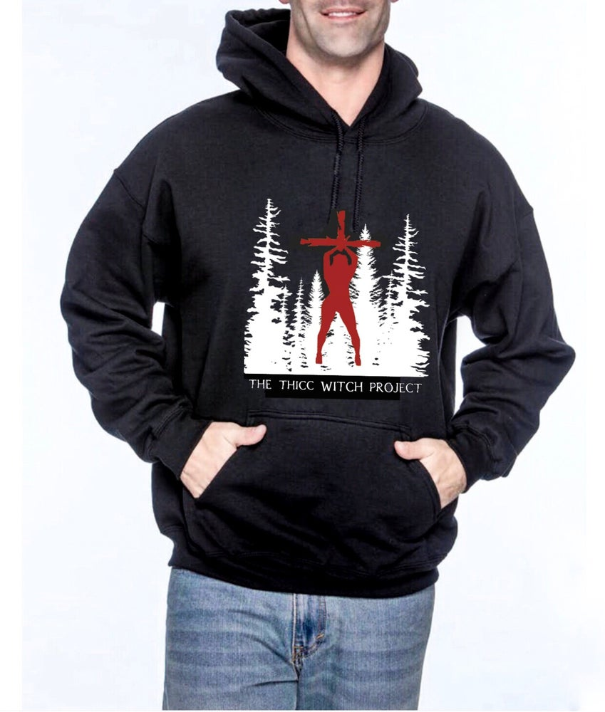 Image of Thicc Witch Project Unisex Pullover Hoodie