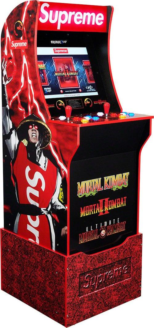 Image of Supreme/Mortal Kombat by Arcade1UP