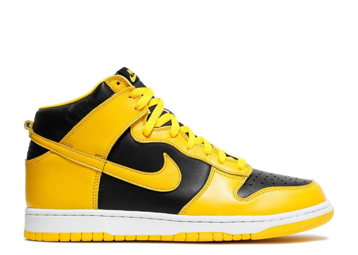 """Image of Nike Dunk High """"Varsity Maize"""""""