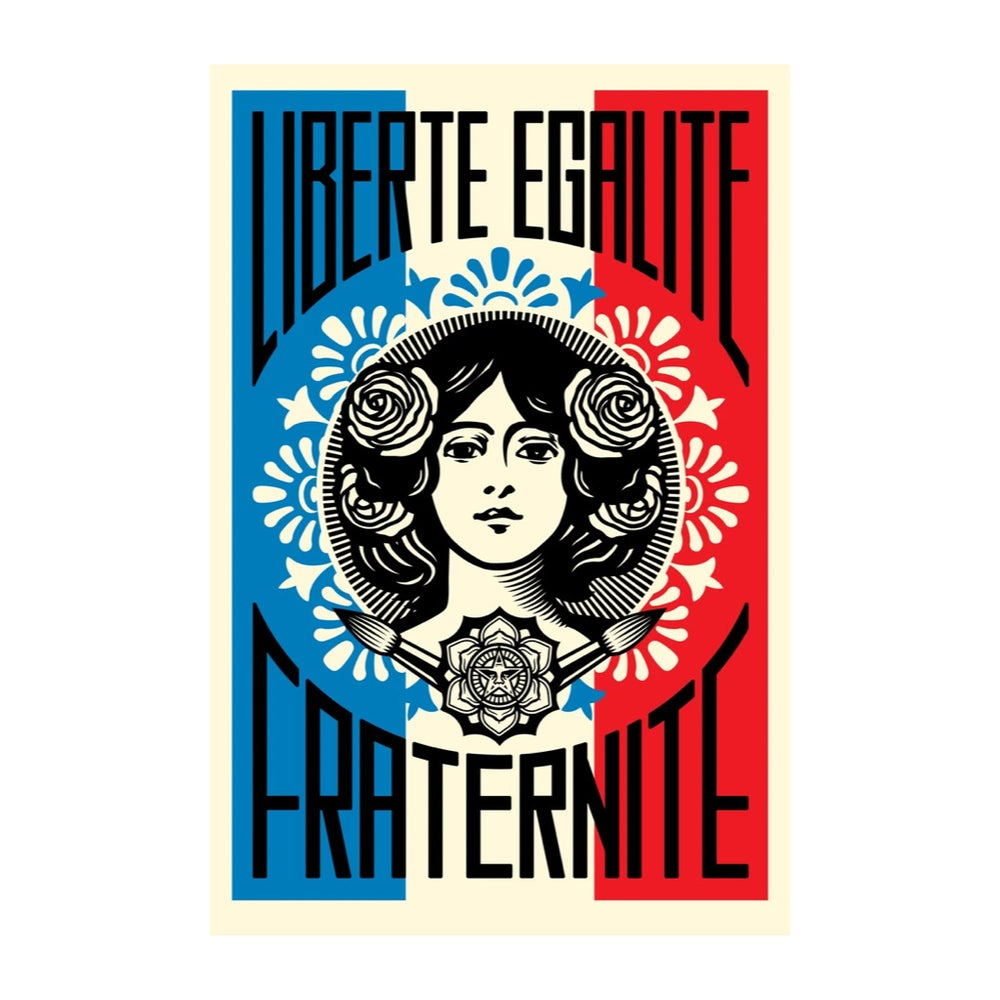 Image of OBEY - LIBERTÉ EGALITÉ FRATERNITÉ
