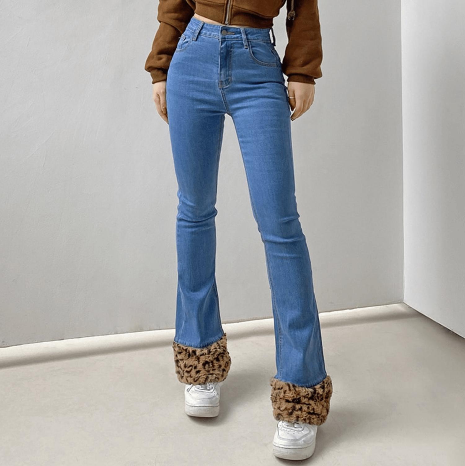 Image of Riley Cheetah Jeans