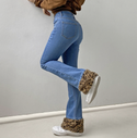 Riley Cheetah Jeans