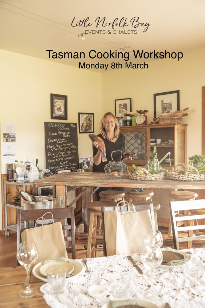 Image of Tasman Peninsula Cooking Workshop Monday 8th March