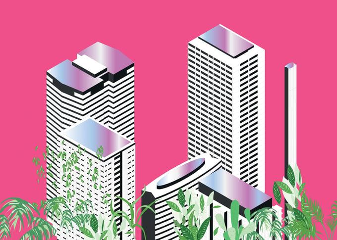 Image of ISO PARIS MAGENTA CITY