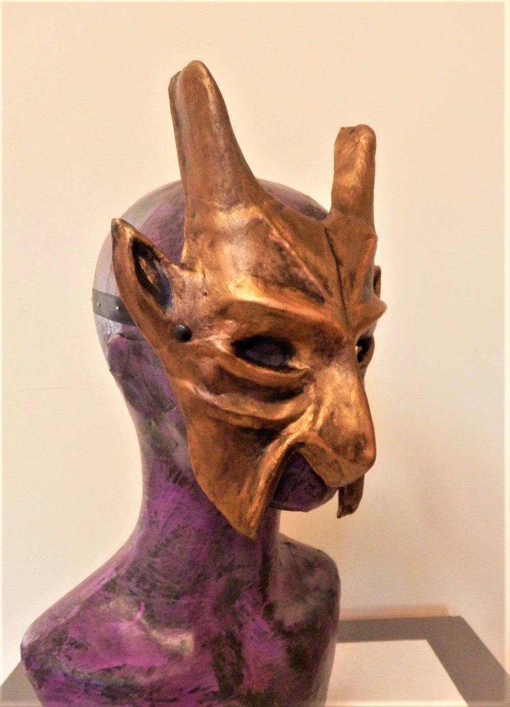 Bronze Devil Mask