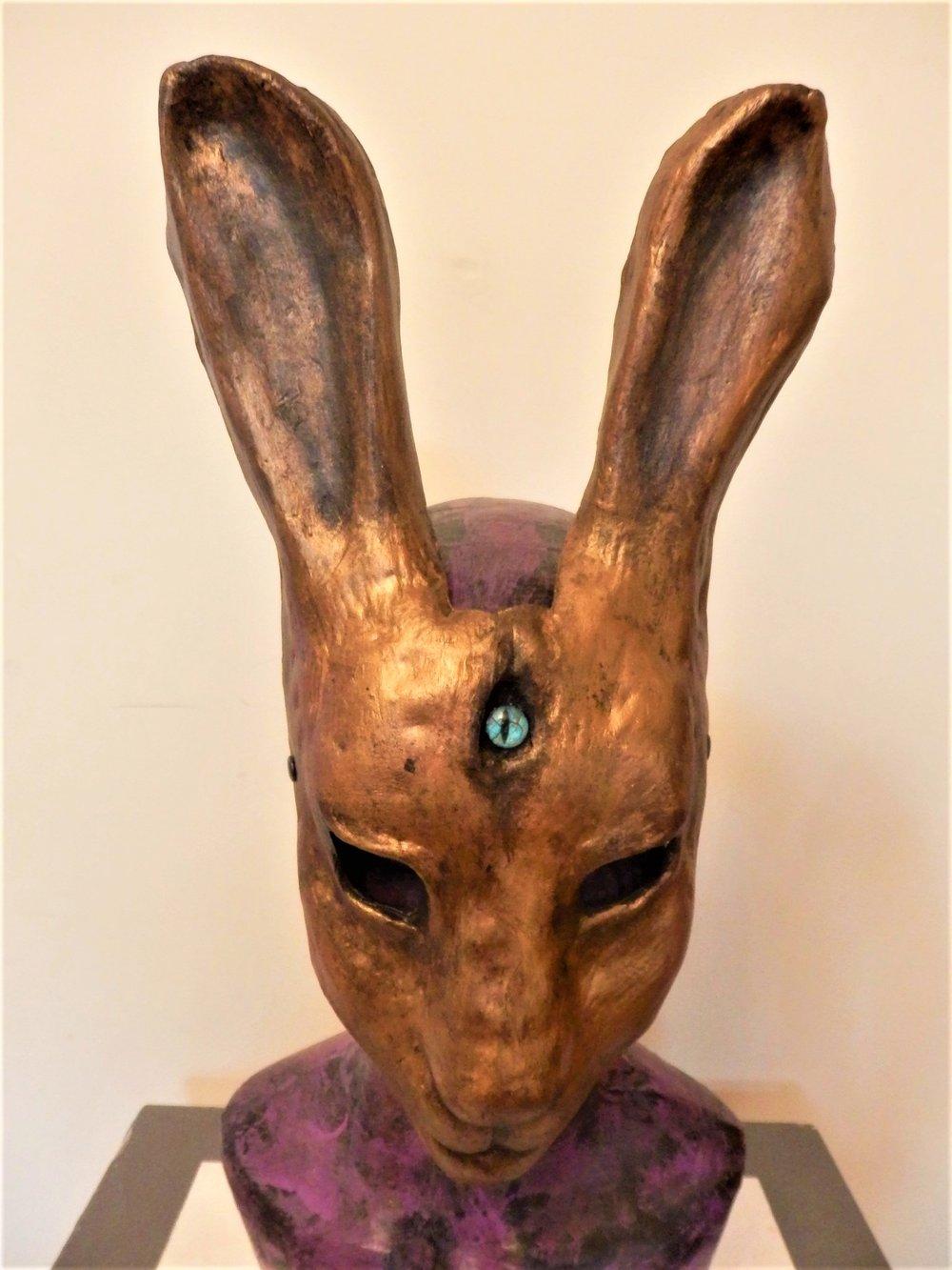 Bronze Hare Mask
