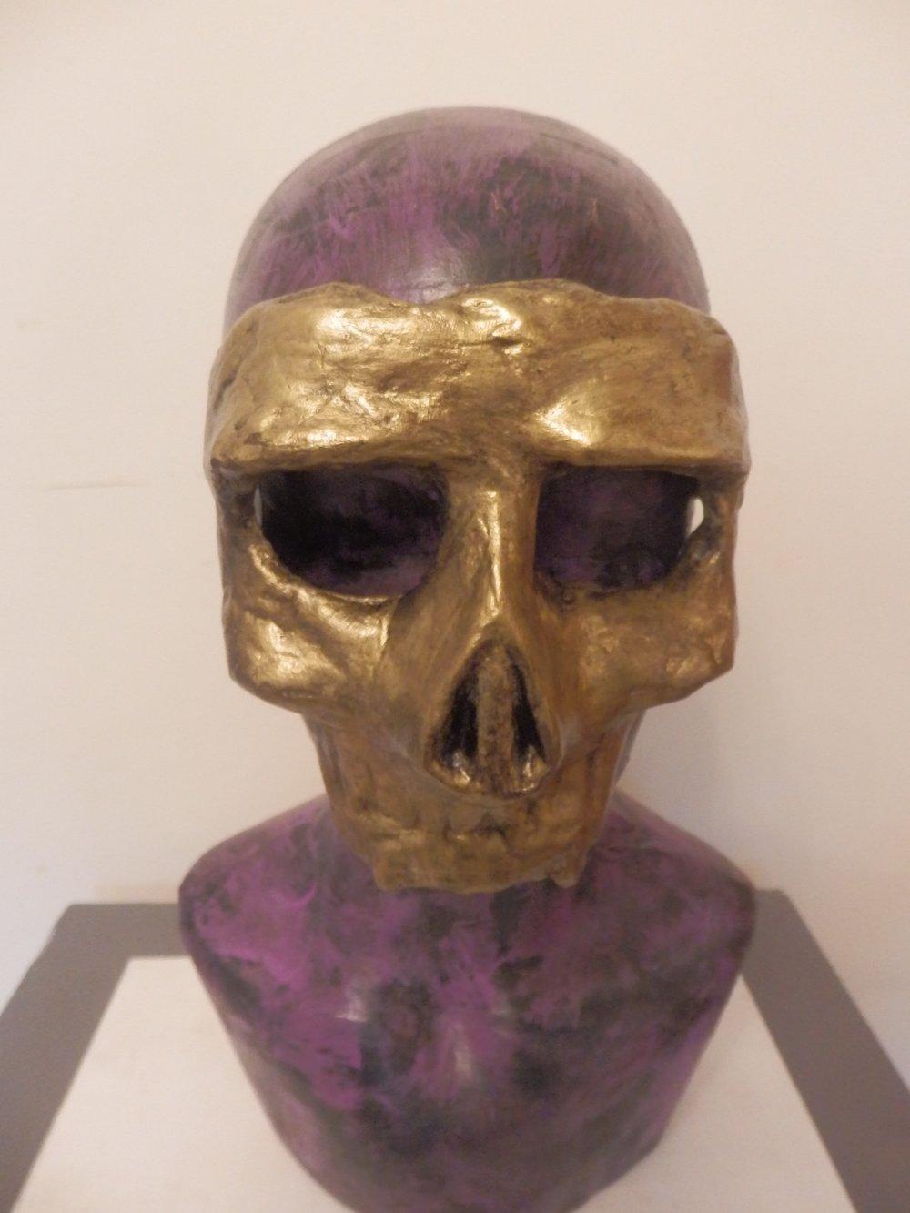 Gold Skull Mask
