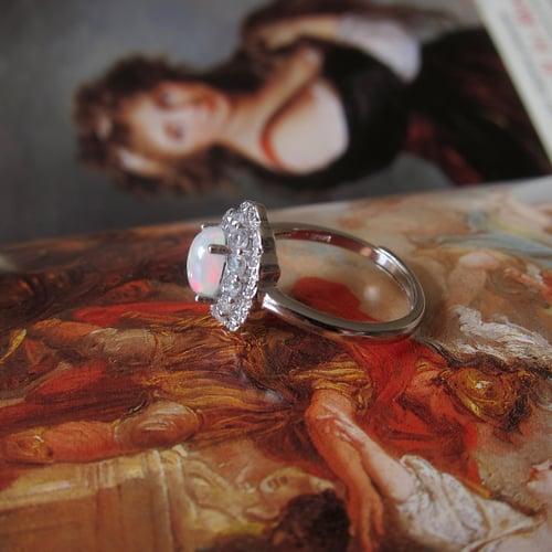 Image of Phoenix fire opal ring