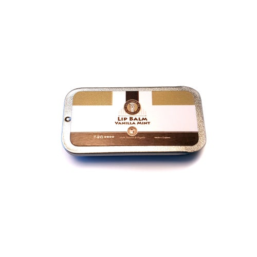 Image of Lip Balm Vanilla Mint 100% Natural & Organic 10ml