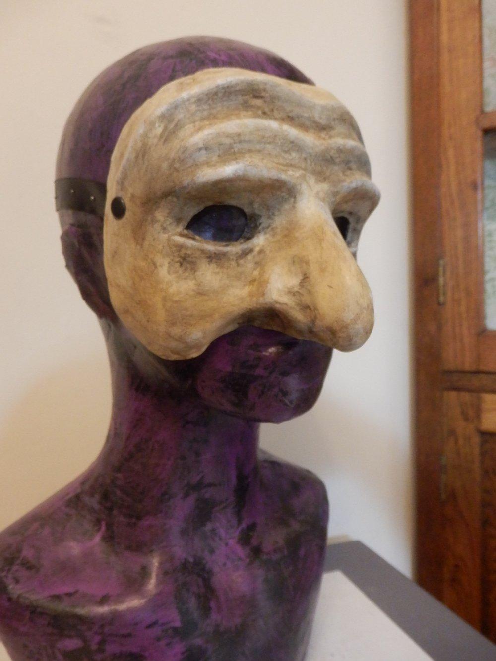 Pulcinella Mask