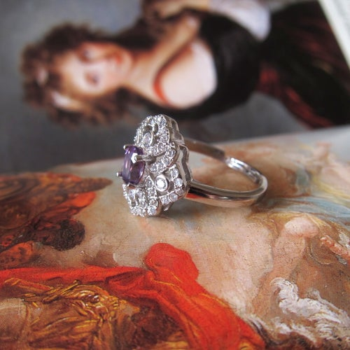 Image of Folklore amethyst ring