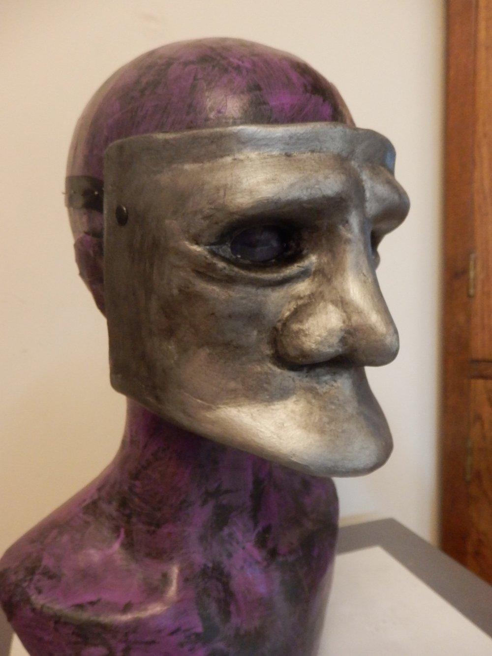 Silver Bauta Mask
