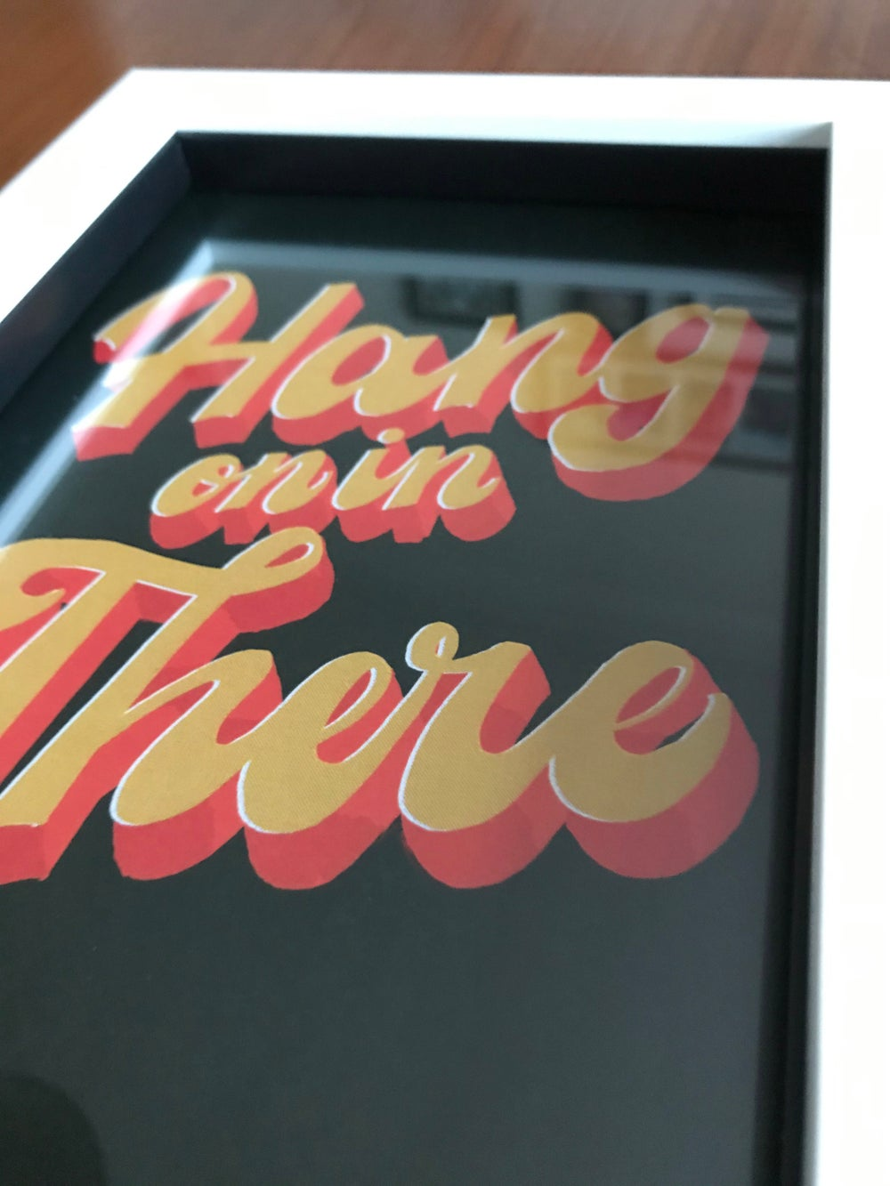 Hang on in there - A5 print