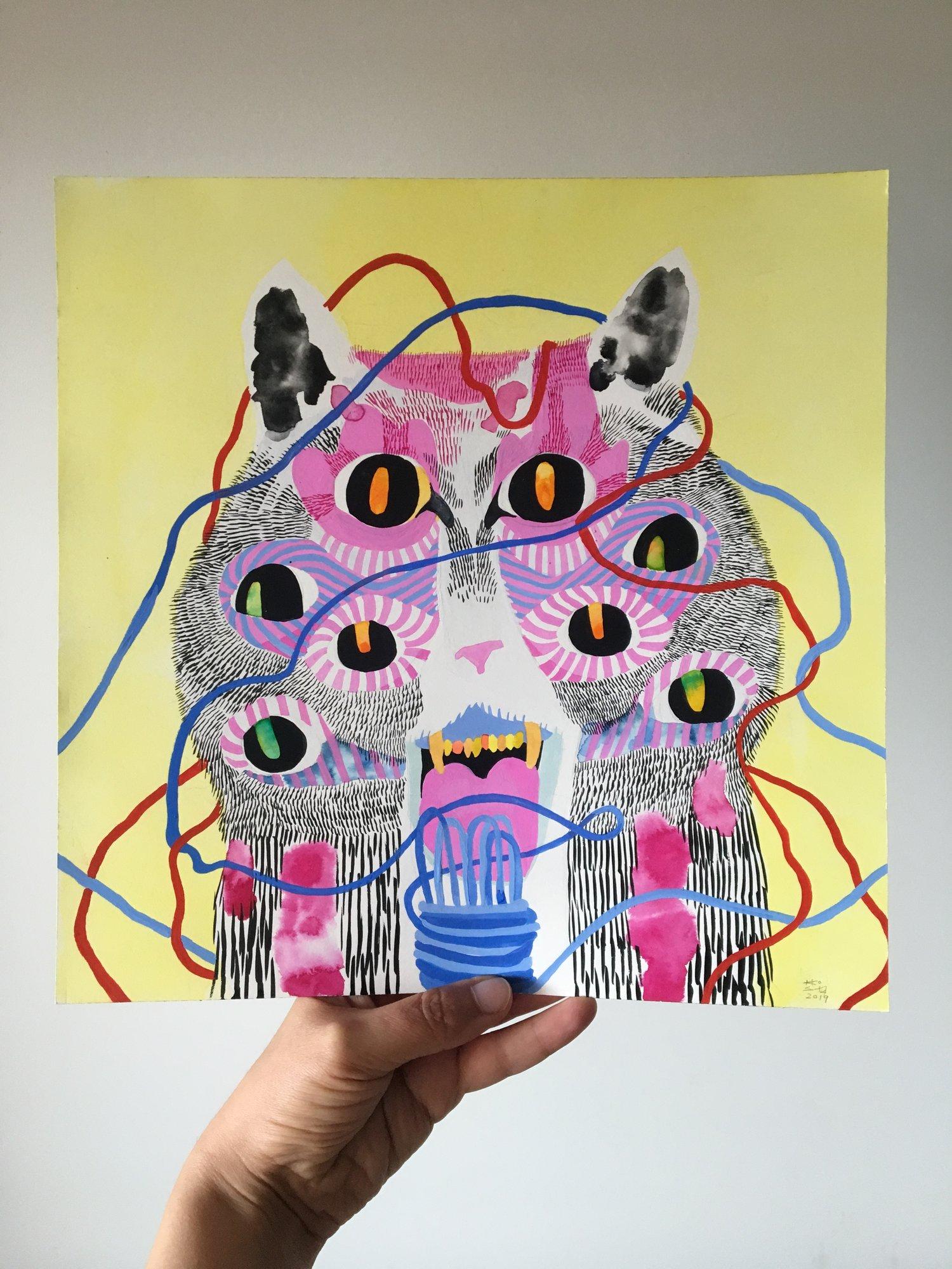 Tangled Cat, 2019