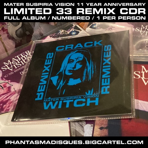 Image of  [LIMITED 33]  MATER SUSPIRIA VISION - CRACK WITCH III REMIXES CDR + DIGITAL