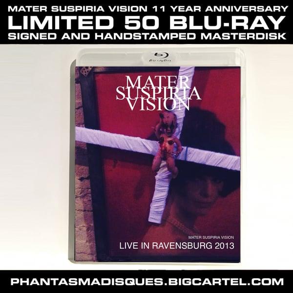 Image of [LIMITED 50] MATER SUSPIRIA VISION - LIVE IN RAVENSBURG SIGNED BLU-RAY MASTERDISK