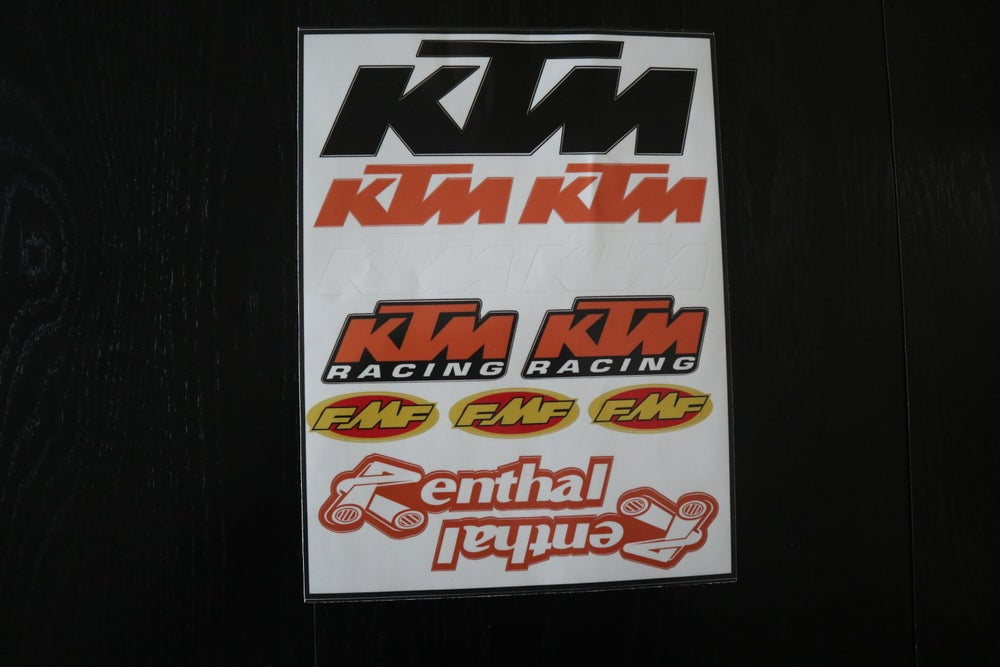 KTM Decal Sheets