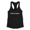 Only thIng Stopping YOU Razorback Tank Top