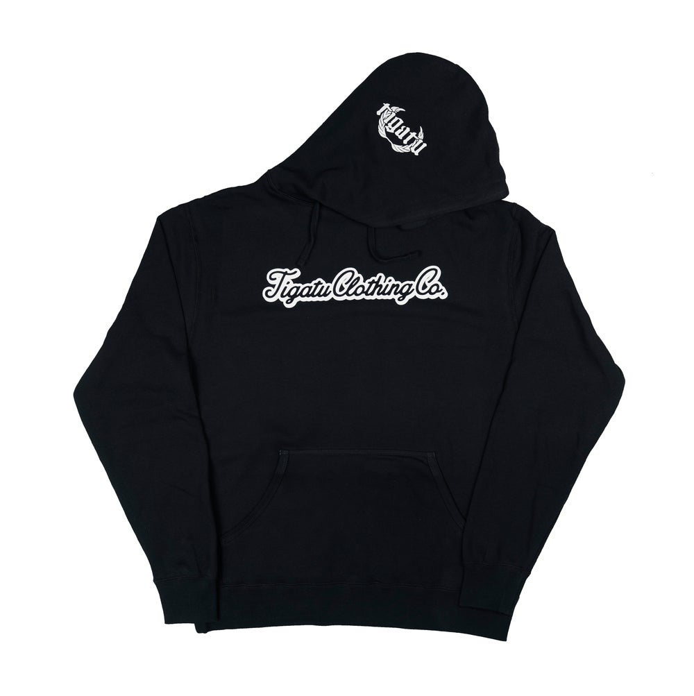 "Image of ""Simple"" Hoodie - Black"