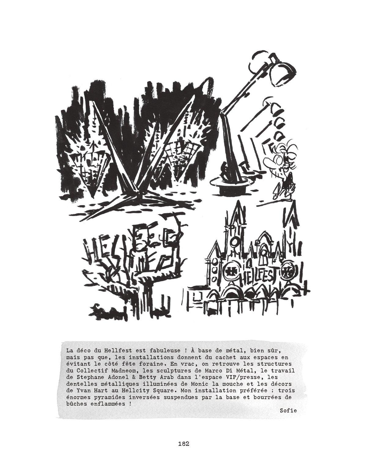 Image of Welcome to HELL(fest) L'INTÉGRALE - 8 ans de HELLFEST en BD reportage (2012-2019)