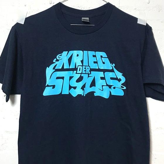 Image of Krieg Der Styles Navy / t-shirt