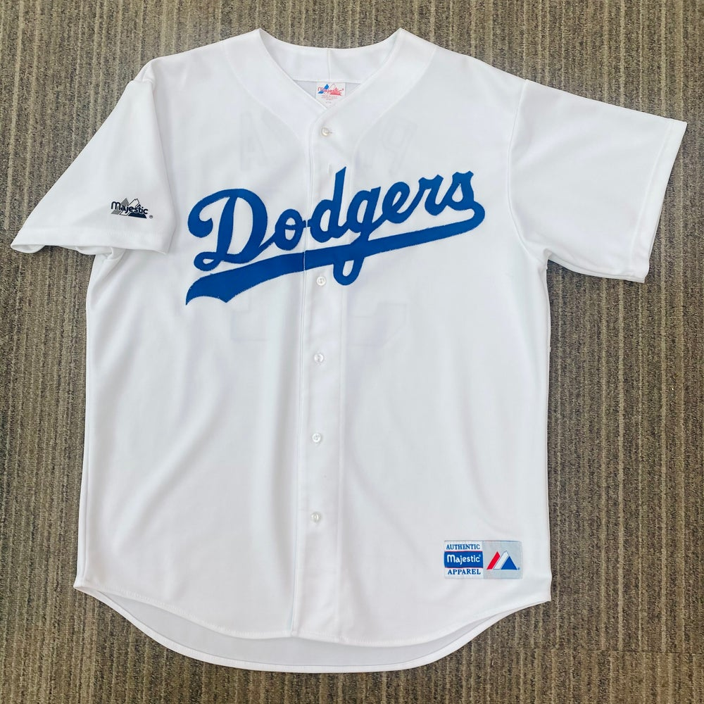 Image of Mike Piazza Los Angeles Dodgers Majestic Jersey